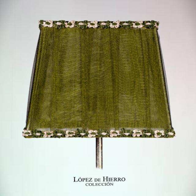 Pantalla Tul Verde Pasamaneria