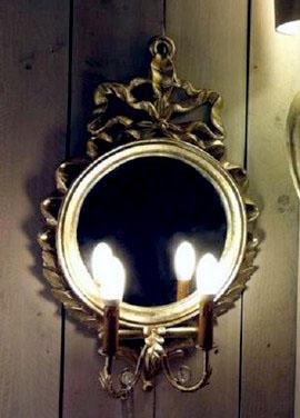 Aplique Camila 2 luces espejo