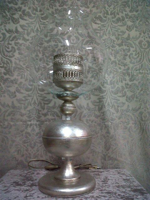 Sobremesa Augusta en plata